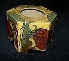 Rozenburg ink pot with butterfly pattern