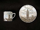 Empire State Building souvenir cup