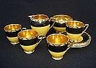 Part Carlton ware coffee service