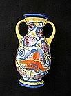 Czech Ditmar Urbach Art Déco vase