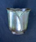Danish Deco bronze vase by Just Andersen
