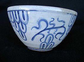 Deco bowl by L. Hjorth, Denmark