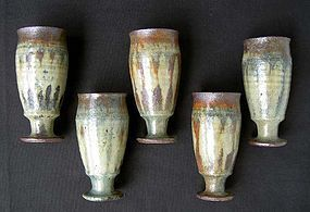 Gutte Eriksen stoneware beakers
