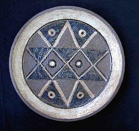 Swedish stoneware dish by Inger Persson
