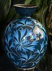 Rare Japanese Cloisonne Enamel Vase - Ando