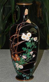 Fine Japanese Cloisonne Vase - Golden Age