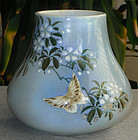 Fine Japanese Porcelain Vase Kawamoto Hansuke