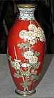 Old Japanese Cloisonne Enamel Vase