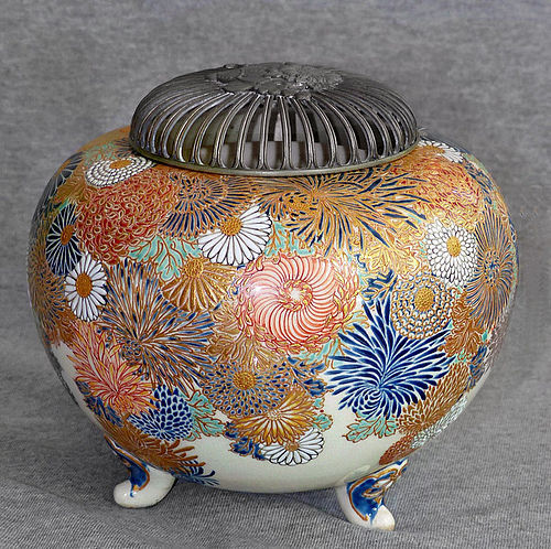 Great Japanese Satsuma Incense Burner