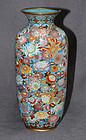 Excellent Japanese Enamel Cloisonne vase from the Golden Age