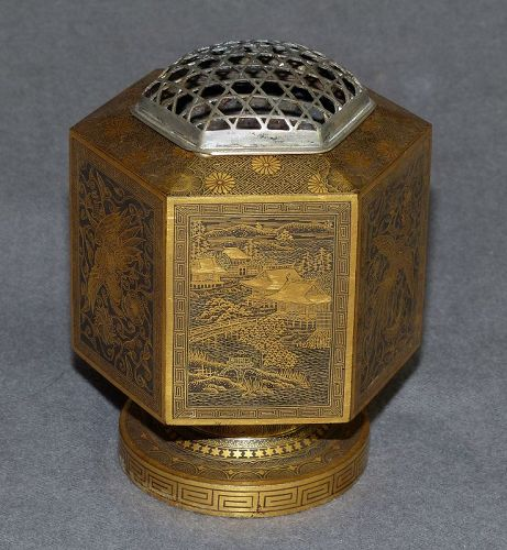 Beautiful Rare Japanese Meiji Era  Koro - Komai