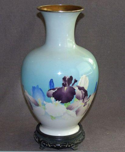 Large Japanese  Cloisonne Enamel Vase - Museum Worthy from Gonda