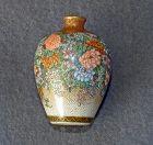 Very Fine Miniature  Japanese Satsuma vase