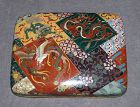 Excellent Rare Japanese Cloisonne Enamel Box - Probably Honda