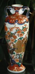 Outstanding Early Japanese Imari Vase Fukagawa