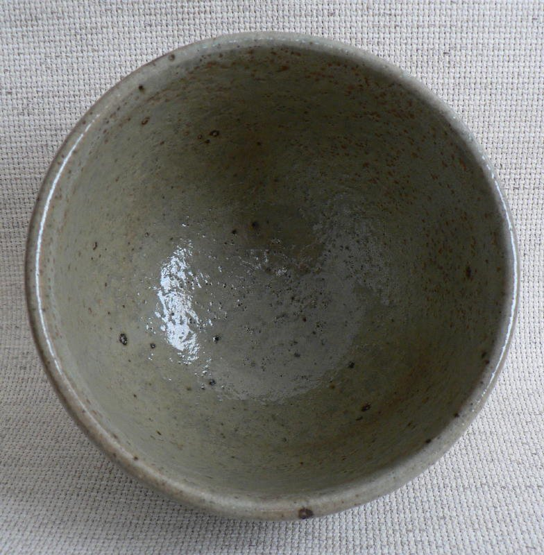 Nice Mingei Tea Bowl Signed.