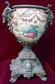 Magnificent French Bronze Amphora