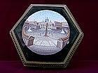 Hexagonal Box with Venetian Mosaics