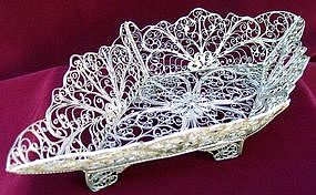 Filigree Bread Basket