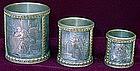 Set of 3 Cups