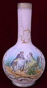 French Opaline Vase