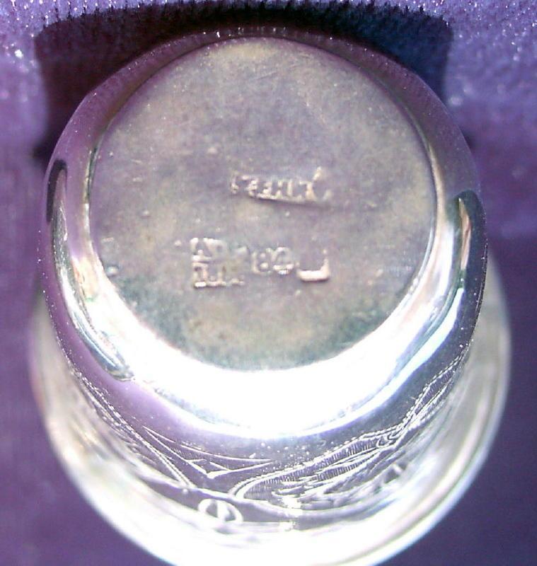 Russian Silver Beakers