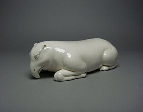 Japanese Tapir-shaped Ceramic Pillow