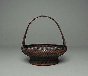 Japanese Small Bamboo Basket Morikago