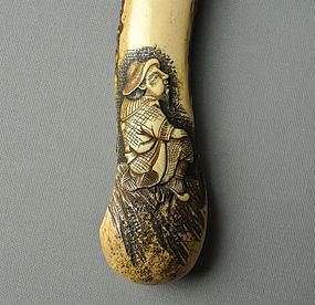 Japanese Stag-horn Pipe Case