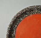 Japanese Lacquer Tray with Raden