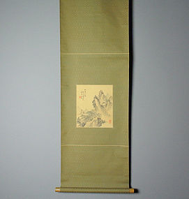 Japanese Scroll Painting by Asai Ryuto