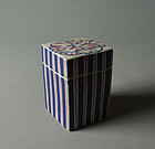 Japanese Ceramic Box by Tokuriki Magosaburo