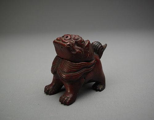 Antique Bronze Incense Burner  ShiShi