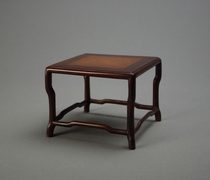 Scholar's Wood Display Table Stand