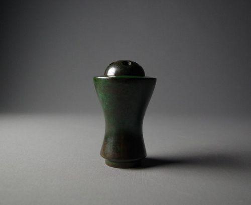Japanese Bronze Incense Burner by Nakajima Yasumi