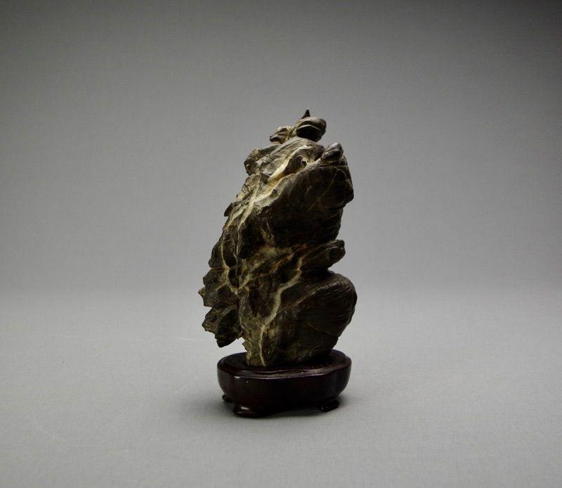 Japanese Natural Viewing Stone Furuya-ishi
