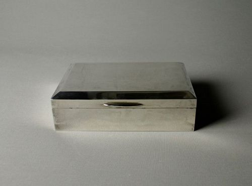 Japanese Silver Box by Ikoma