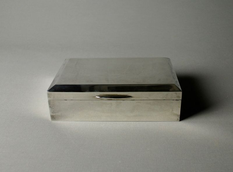Japanese Silver Box by Ikoma