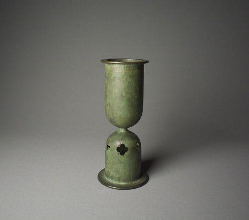 Japanese Art-deco Bronze Vase