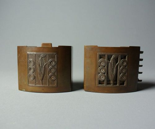Japanese Art Deco Bronze Boxes