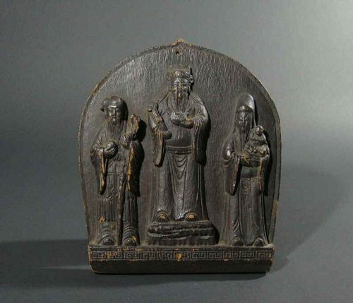 Chinese Wood Carving Relief
