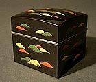 Japanese Lacquer Kogo Incense Box