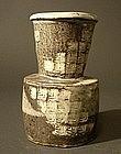 Japanese  Art Pottery Vase by Michiko Daiguji
