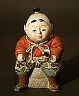 Japanese Kimekomi Ningyo Samurai Boy