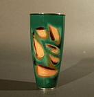 Japanese Ando Shippo Cloisonne Vase