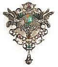 Fabulous 19th C Austro-Hungarian Brooch