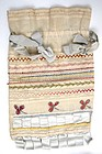 Charming Antique Open Work and Embroidery Purse Sampler