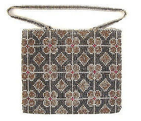 Unique Antique Beaded Purse - Nouveau!