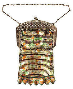 Deco Whiting & Davis Mesh Purse -- Fab Frame