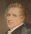 Portrait Miniature of Gentleman, by Adam Buck